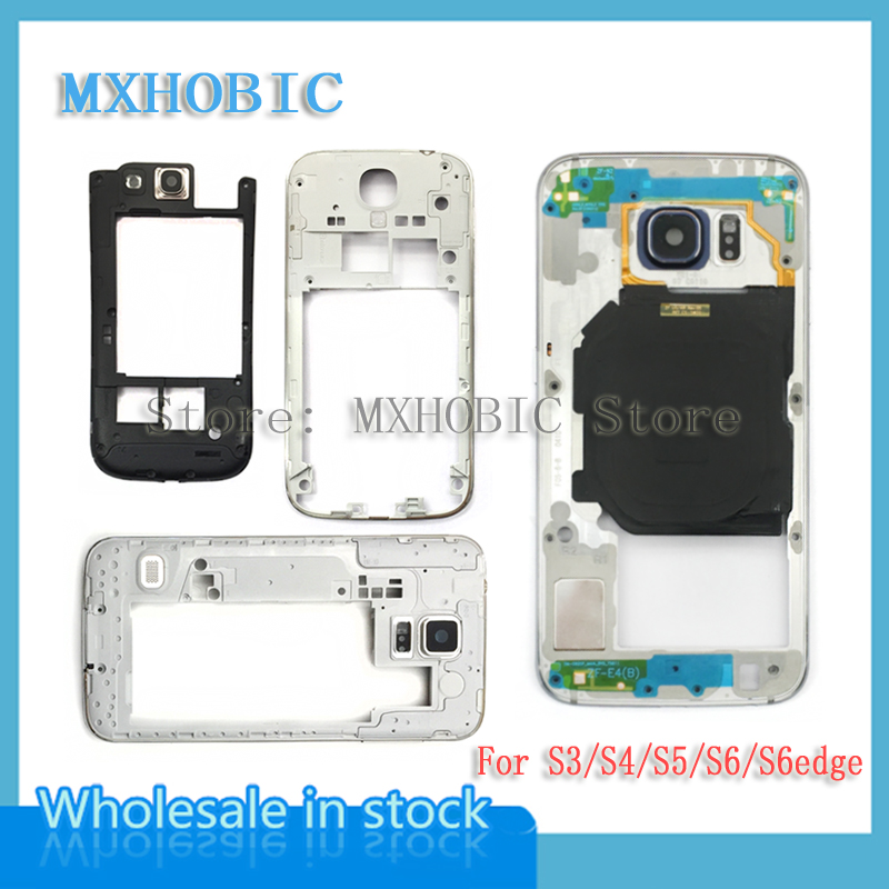 Plate Housing-Replacement Back-Chassis I9500 Middle-Frame S6-Edge G925f G900f Galaxy