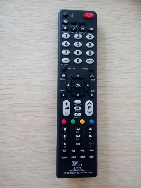 hitachi smart tv. orignal high quality remote control zf e-h918 use for hitachi smart tv lcd led hdtv 3d function tow aaa batteries tv