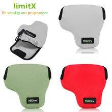 LimitX Di Động Neoprene Mềm Chống Thấm Nước Bên Trong Camera Lưng Bao Da Thiết kế cho Máy Ảnh KTS Nikon Coolpix B700 Máy Ảnh Kỹ Thuật Số