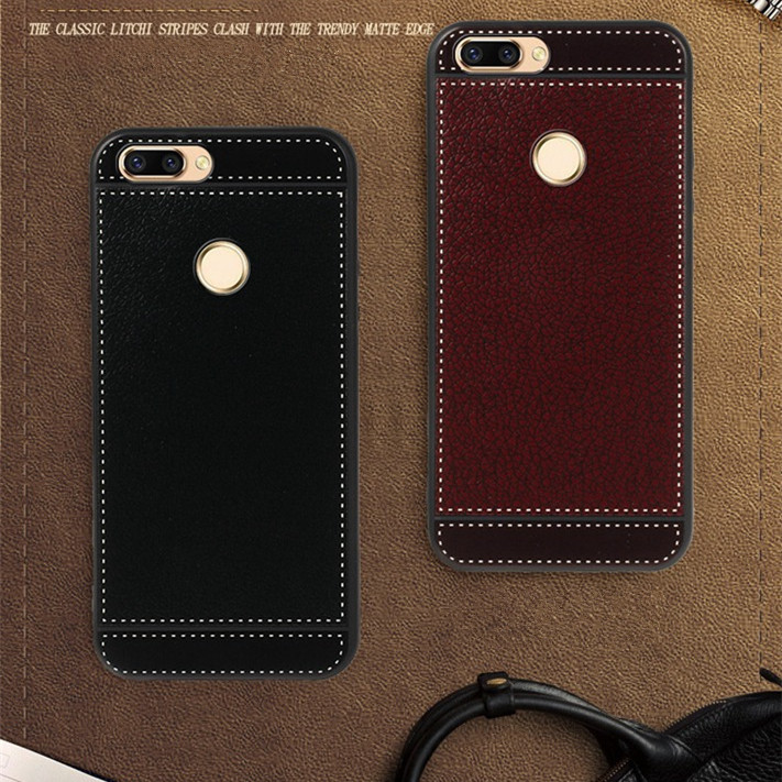 for oppo r11s shockproof case for oppo phone r11s plus leather pattern back cover for oppo r11splus tpu funda soft phone protect