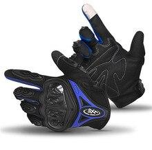 цена Motorcycle Gloves Touch Screen Breathable Wearable Protective Gloves Guantes Moto Luvas Motorbike Motocross Gloves онлайн в 2017 году