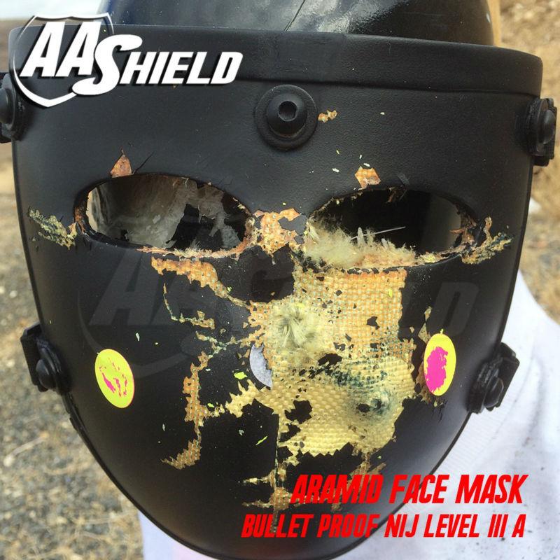 c7e69e92 AA Shield Ballistic Visor Face Bulletproof Glass Mask For Fast Helmet Body  Armor Mask NIJ Lvl IIIA 3A Teijin Mask Aramid Code-in Masks from Security  ...