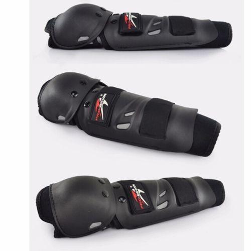 POLLO HAWK COMPETICIÓN Adultos Knee/Shin Codo Protector del Protector de Almohadillas de Carreras de Motos de Motocross Armadura de Cuerpo