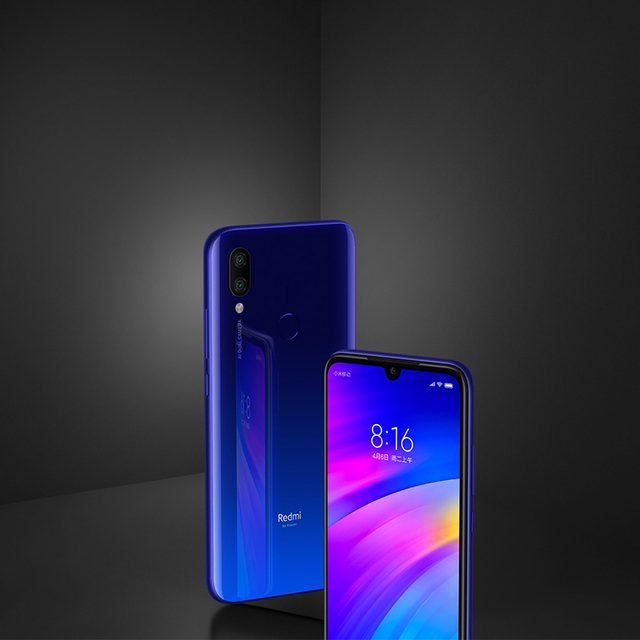 Global Rom Xiaomi Redmi 7 4GB RAM 64GB ROM Snapdragon 632 Octa Core 12MP Dual AI Camera Mobile Phone 4000mAh Large Battery 5