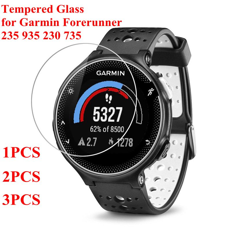For Garmin Forerunner 235 Tempered Glass 9H Screen Protector Film For Garmin 235 935 230 735 Smart Watch Screen Protector