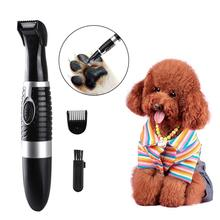 New High Power Professional Electric Pet Hair Clipper Cat Dog Hair Trimmer Grooming Animals Clipper Pets Haircut Shaver Machine