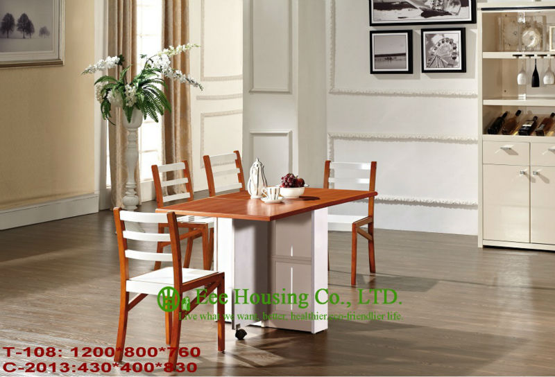 T-108,C-2013    Luxurious Solid Dining Chair,Solid Wood Dinning Table Furniture With Chairs/Home Furniture