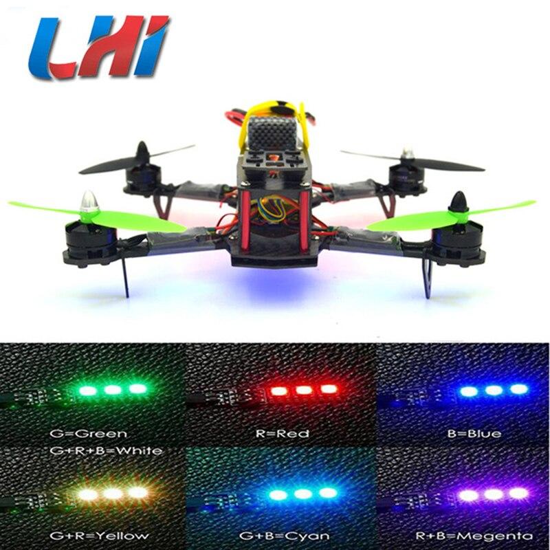 Qav 250 drone professionnel fpv quadcopter Cadre dron quad copter droni télécommande diy drohne com led micro quadricoptère