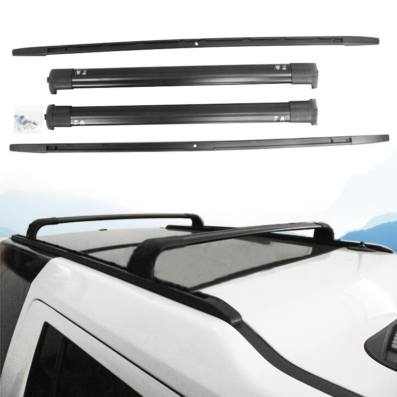 Aluminium Roof Baggage Luggage Rack Bar Rail Bar Suitable