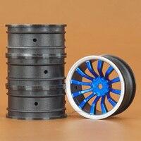 4 CÁI 1:10 tốc độ chạy drift drift lốp bánh xe trung tâm khung HSP94123 cherry CS/D4 cho 716 nhiều màu tùy chọn RC Xe miễn phí vận vận chuyển