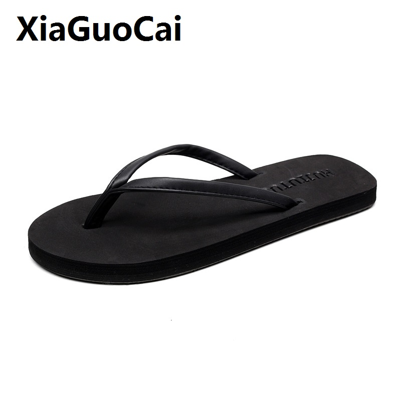 Flip Flops women Beach Flat Sandals Open Toe Outdoor Casual Famale Sandals Flip Flops 35-44 Big Sizes Summer Shoes women Slipper 2018 new summer style beach cork slipper flip flops sandals women mixed color casual slides shoes flat with plus size 35 45