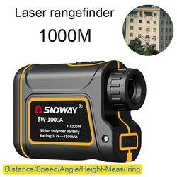 أفضل جديد متعددة الوظائف تلسكوب الليزر Rangefinder يده أحادي جولف الليزر rangefinder للصيد