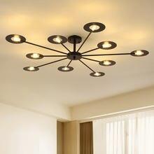 Потолочные светильники в новом стиле винтажные лампы для гостиной