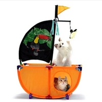 Cat Toy Cat Pirate Ship Game Park