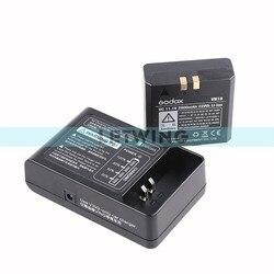 Godox 2015 New Li-ion Battery DC 11.1V 2000mAh 22Wh VB18 +  Battery Charger VC18 for Wistro V860 V850 Flash Speedlight