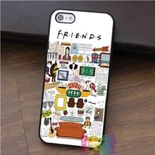 Friends TV Series Phone Case iPhone 4 4s 5 5s 5c SE 6 6s 6 plus 6s plus 7 7plus