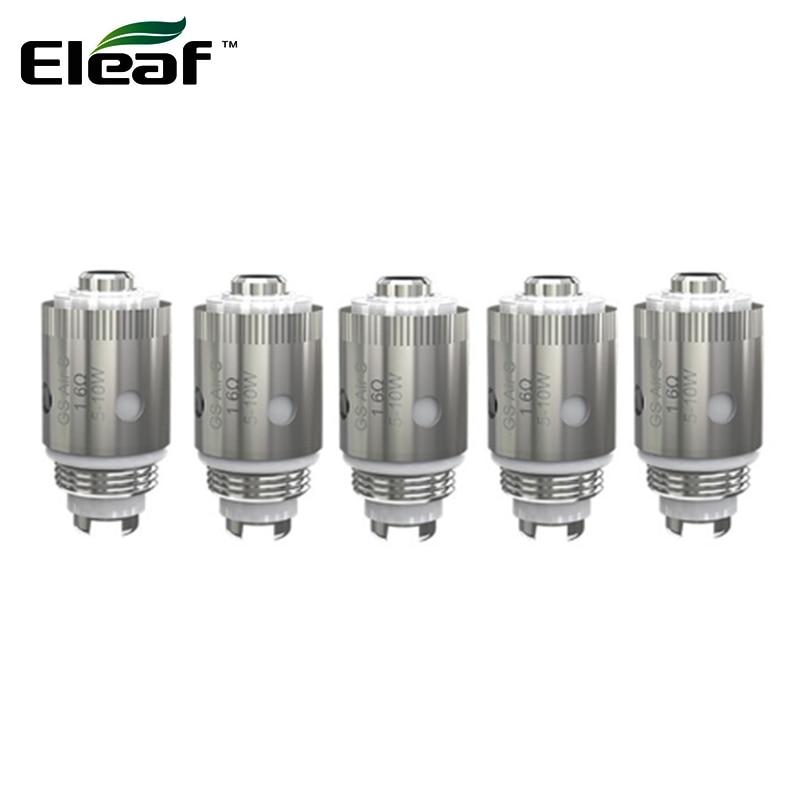 Eleaf-evaporador de cigarrillo electrónico para Eleaf iTap, cabezal de 1,6 ohm que adopta Material SS316L, Kit iTap, 5 unidades por lote