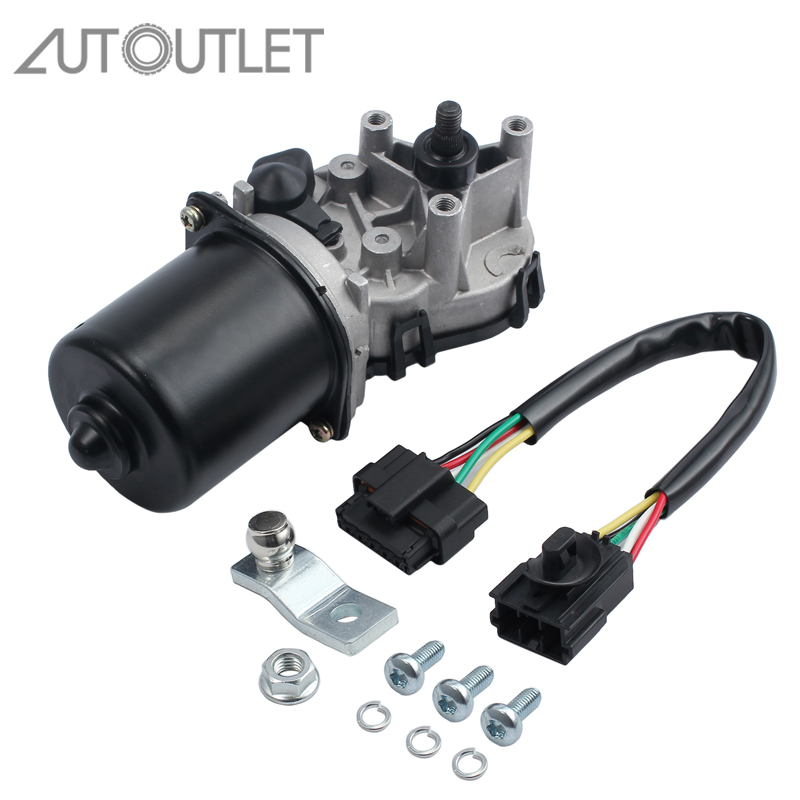 AUTOUTLET Wiper Motor Front Windscreen Wiper For Renault Twingo 1.2 BJ 03/93 06/07 7701052465-in Valves & Parts from Automobiles & Motorcycles    1
