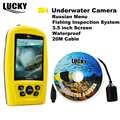 GLÜCK FF3308-8 Russische Menü Tragbaren Unterwasser Kamera 3,5 zoll Angeln Inspektion System Wasserdicht Fisch Finder Winter Eis # C7