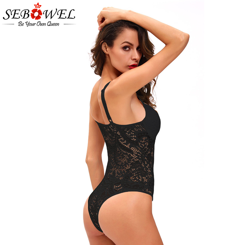 Black-Sexy-Push-up-Lace-Teddy-LC32058-2-10