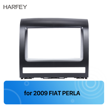 Harvey podwójne Din samochód konsola radiowa wykończenia Panel rama zestaw Dash dla FIAT PERLA 2006 2007 2008 2014-2012 fiat Albea Siena Palio