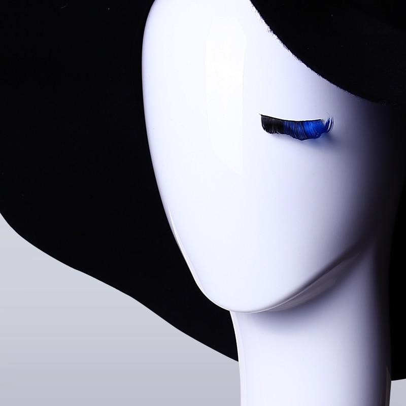 D27 Inci siyah / beyaz Baş kadın mankenler Şapka saç Peruk - Sanat, el sanatları ve dikiş - Fotoğraf 6