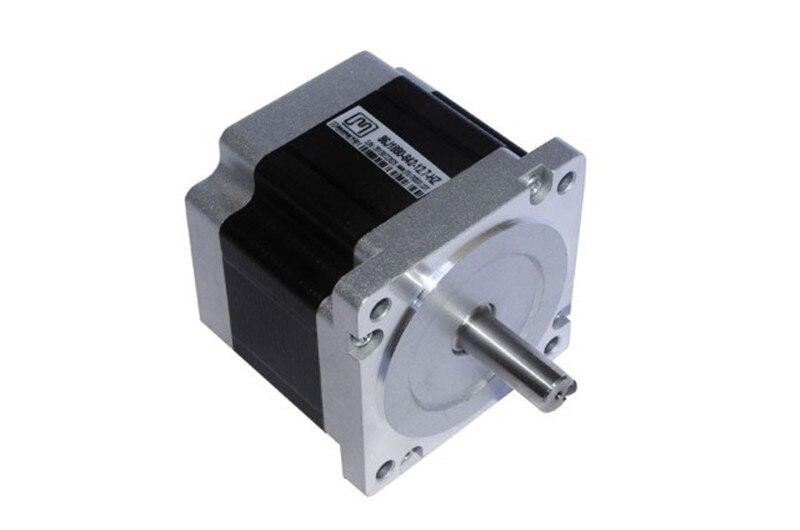цена на Nema 34 2phase 4.5N.m 637ozf.in stepper Motor 86mm frame 12.7mm shaft 86J1880-842 JMC