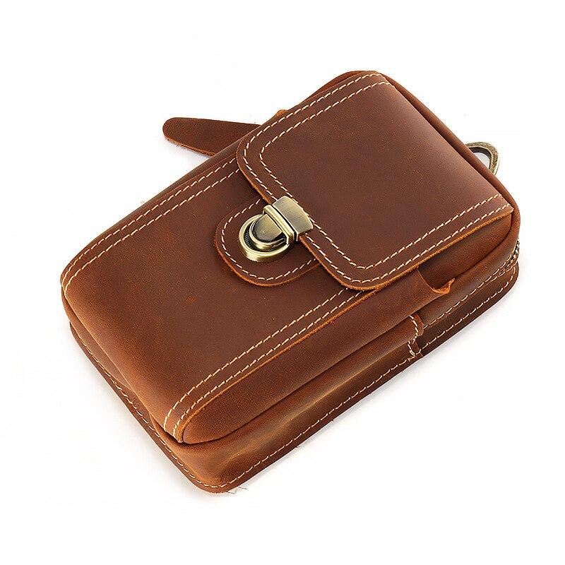 4-6 ''universel téléphones mobiles pochette fermetures à glissière portefeuille étui ceinture pince sac pour smartphone taille ceinture pochette étui téléphone portable sac - 4