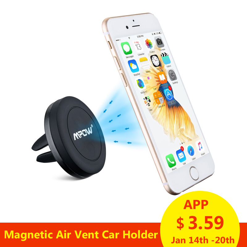 Mcm8 Mpow Magnetic Air Vent Mount 360 Degree Rotation Car