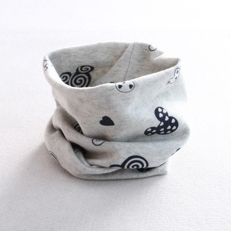 Осенне-зимний детский хлопковый шарф для девочек и мальчиков теплые шарфы Детский круглый кольцевой ошейник Детский шарф детский волшебный шейный платок - Цвет: M 1