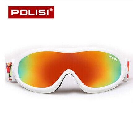 Prix pour POLISI Ski Alpinisme Lunettes UV400 Anti-Buée Ski Snowboard Patinage Lunettes Hommes Femmes Coupe-Vent Moto Neige Lunettes