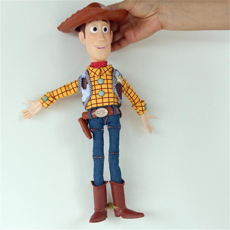 Doll 2019 Toy Story 4 Woody Jessie Sound effect Cowboy pronunciation boy girl toy gift Accompany child Joint movable