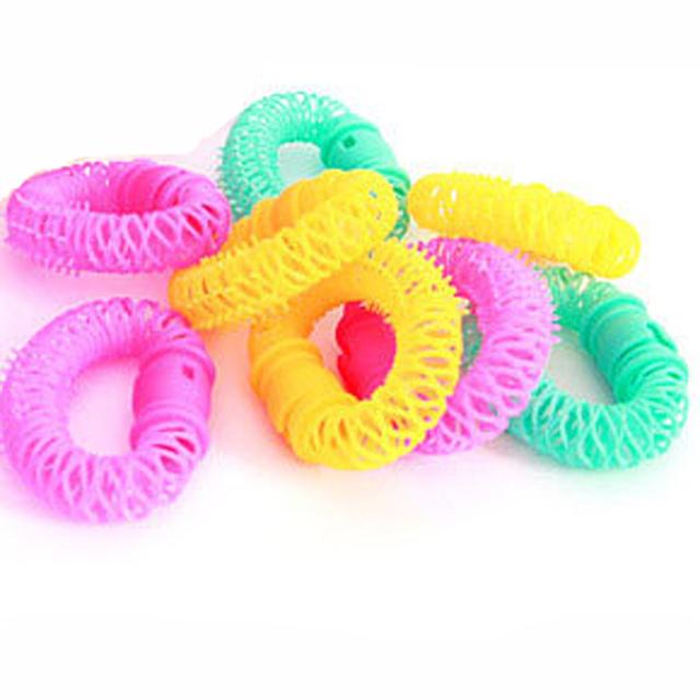 8 Pcs Plastic DIY Hair Curlers for Women