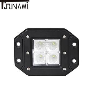 Image 4 - Verstelbare LED verlichting Super heldere schijnwerper flood verlichting voor Off road Truck Tractor Boot Trailer 4x4 SUV ATV