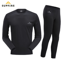 Supfire Winter Thermal Underwear Set Men Anti-microbial Stretch Men's Sports Quick Dry Thermo Underwear Male Warm Long Johns C06 microbial