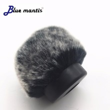 Fur Windscreen Furry Windshield Muff forAKG C451B C480 FOR AZDEN SG Microphone Wind Shield Protection Outdoor Interview Mic 5cm