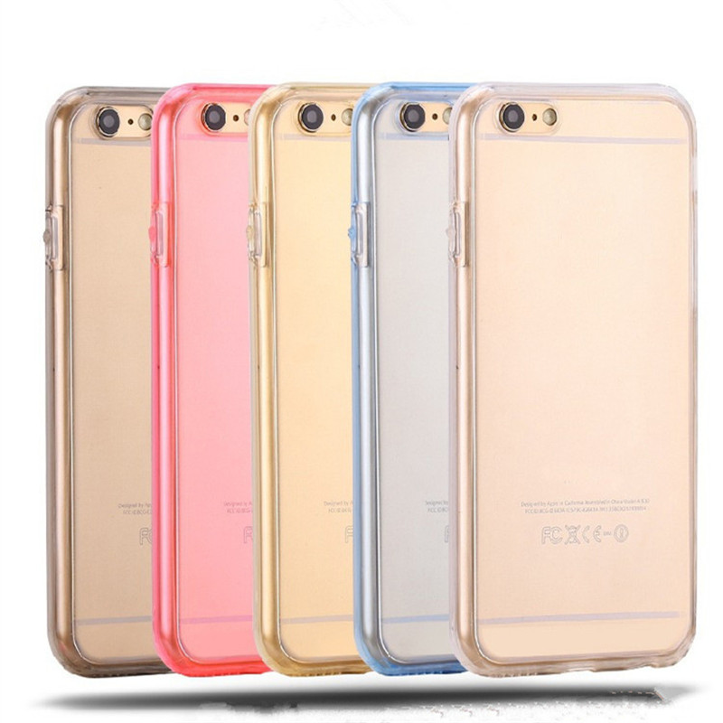 JERX 360 Degree Phone Case For Iphone 5 5s SE 6 6S 7 Plus Full Coverage