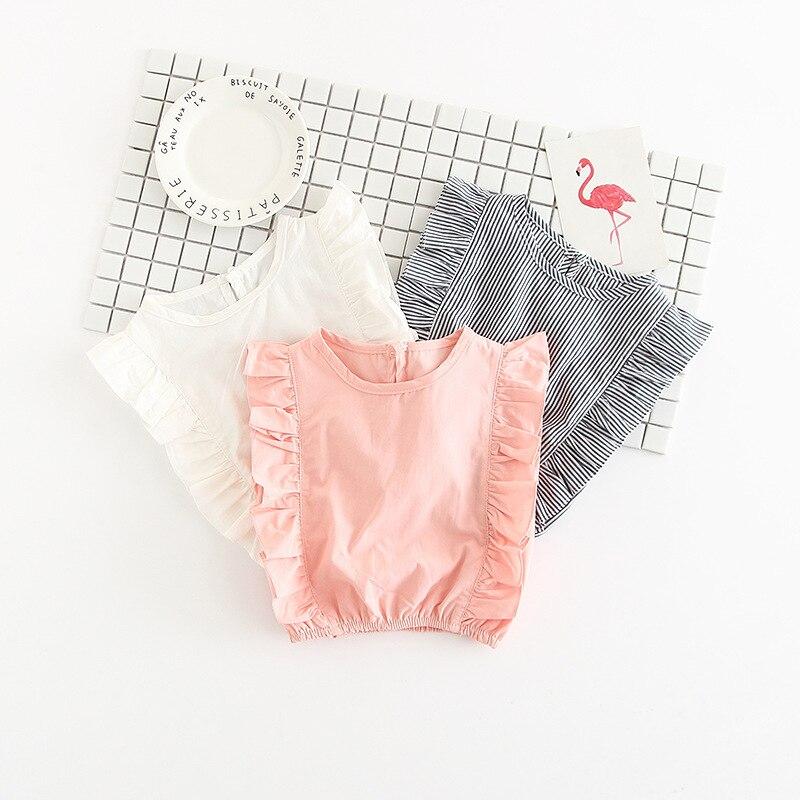 Klīrenss Meiteņu T-krekls Bērnu svītrains Tee Flare piedurkņu - Bērnu apģērbi