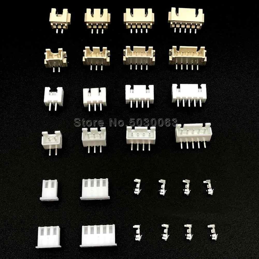 สูง 2.54 มม.XH2.54 2/3/4/5/6/7-16p ดัด/ ตรงเข็มแนวนอน/แนวตั้ง SMD ลวดเชื่อมต่อเทอร์มินัลชุด/ที่อยู่อาศัย/Pin Header