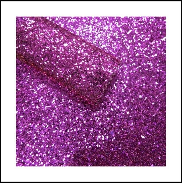 Zeer Online Shop 50 m behang bloemen roze PU glitter behang voor  #LI66