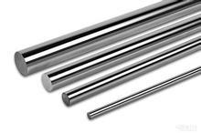 Alemão qualidade Frete Grátis 4 pçs/lote 6mm eixo linear 6*200mm haste longa linear rodada cromo ferroviário banhado
