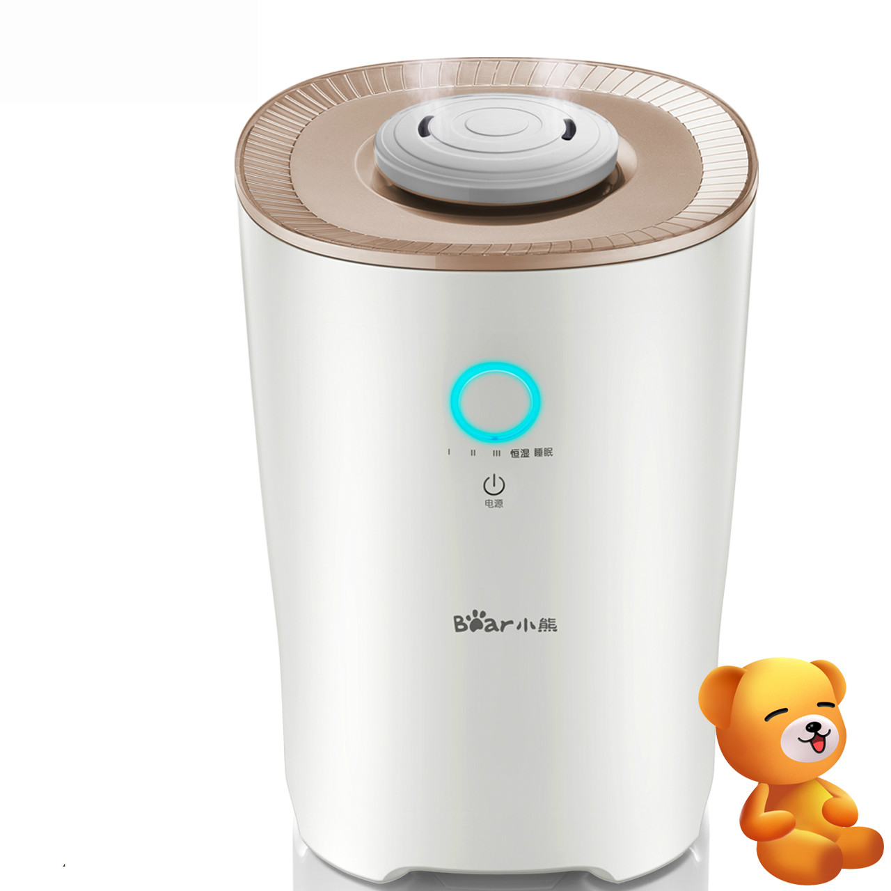Bear Mini household air humidifier mute bedroom office large capacity and creative humidification aromatherapy machine Diffuser tabletop humidifier household bedroom mute high capacity office air conditioning creative air aromatherapy mist making machine