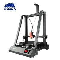 2019 mais novo 300*300*400mm tamanho grande wanhao fdm desktop fdm d9 300 impressora 3d com nivelamento automático e retomar a impressão bl