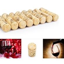 10 шт./упак. прямые деревянные винные пробки Пробка для винной бутылки пробки винные пробки Бутылка пробка барные инструменты для вина из пробкового дерева деревянная уплотнение крышки