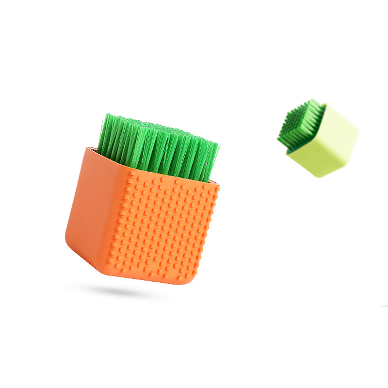 Cleaning Liquid Kitchen Essential Cleaning Brushes Dishwashing Brush Plastic Cleaning Cup Hydraulic Xiguo Brush Non-stick Brush