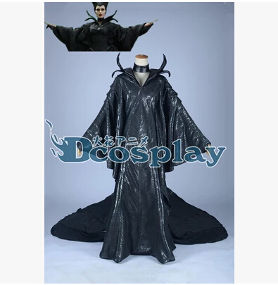 Jason Movie Malefica Cosplay Costumes Sex Black Dresses angelina jolie Cosplay Dresses