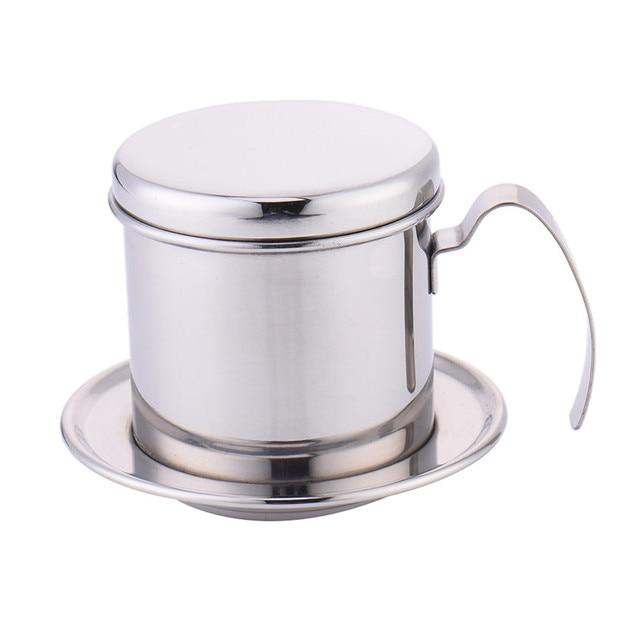 Kaffeefilter Edelstahl 1 satz portable edelstahl kaffee tropf filterkaffeemaschine hohe