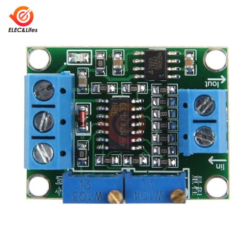 4-20mA to 0-15V 0-5V 0-10V Isolation Current to Voltage Transmitter Signal Converter Transformer Module Board DC 12V 24V DIY