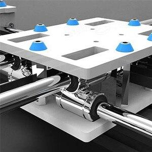 Image 5 - EleksMaker Mini XY 2 achsen CNC Stift Plotter DIY Laser Zeichnung Maschine Drucker 28*20cm Gravur Genauigkeit 0,1mm