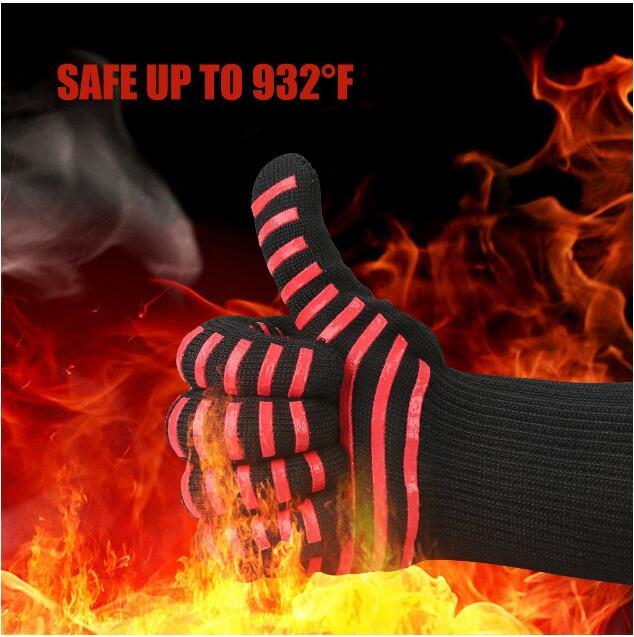 High Temperature 500 800 Degrees Bbq Flame Retardant Non